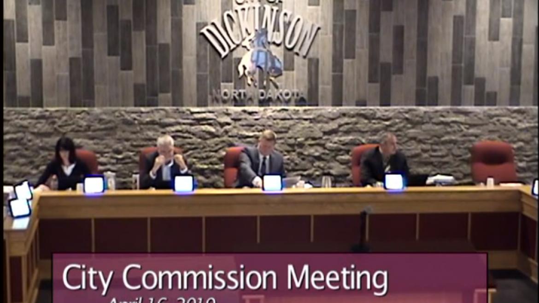 City Commission Meeting – April 16, 2019
